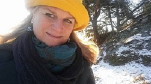Eva Ariela winter in Stockholm