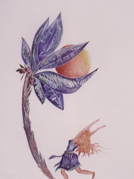 Woman & Palm color