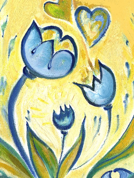 Tulips & SacredEgg.2001