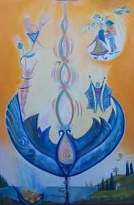 The Birth of Divine Spiral